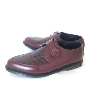"""Dr. Marten """"Ashland"""" Mens Size 14 Red Croc Design"""